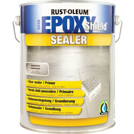 Rust-oleum Epoxy Shield Clear Sealer 5LTR