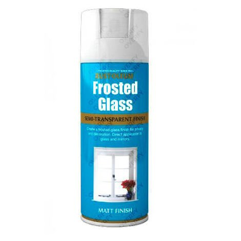 Rust-Oleum Frosted Glass Semi-Transparent Window Etching
