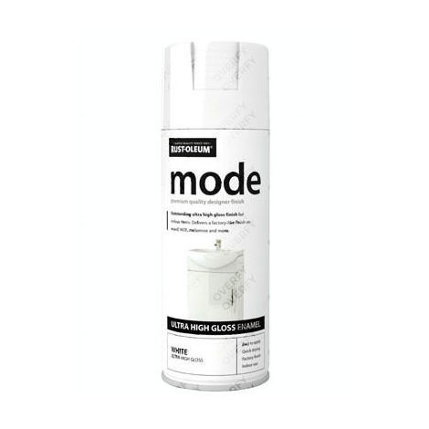 Rust-Oleum Mode® Ultra High Gloss White Pink Green Grey Blue Cream Red Yellow Beige