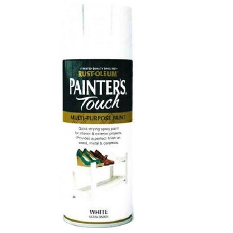 Rust-Oleum Painter's Touch White Satin - 400ml