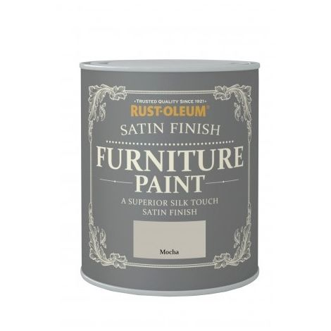 Rust-Oleum Satin Furniture Paint 750ml / 125ml Chic Shabby Vintage Paints