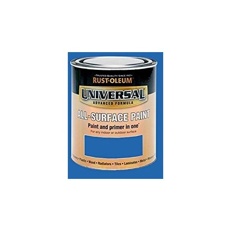 Rust-Oleum Universal All Surface Brush Paint - 750ml / 250ml - All Colours