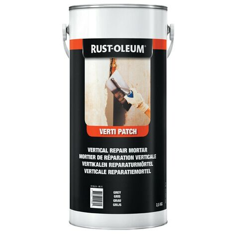 Rust-oleum Verti-patch Grey 2.5KG