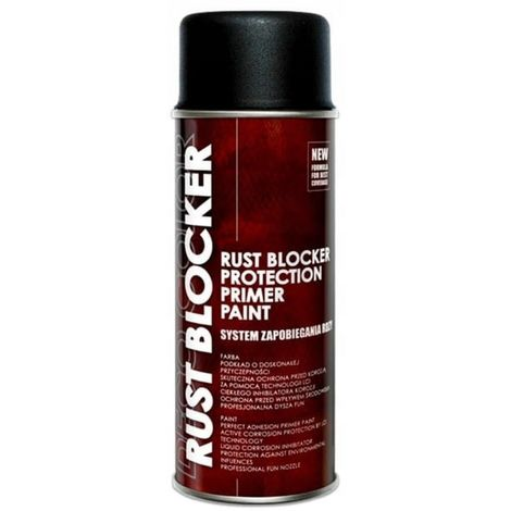 Rust varnish spray for corrosion ral 9005 black
