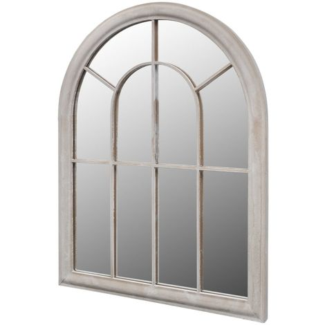 Rustic Arch Garden Mirror 89x69cm for Both Indoor and Outdoor Use