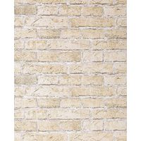 Rustic brick wallpaper wall EDEM 583-20 decorative vintage mural stone brix look vinyl sand-beige