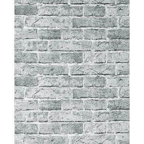 Rustic brick wallpaper wall EDEM 583-26 decorative vintage mural stone brix look vinyl fashion grey