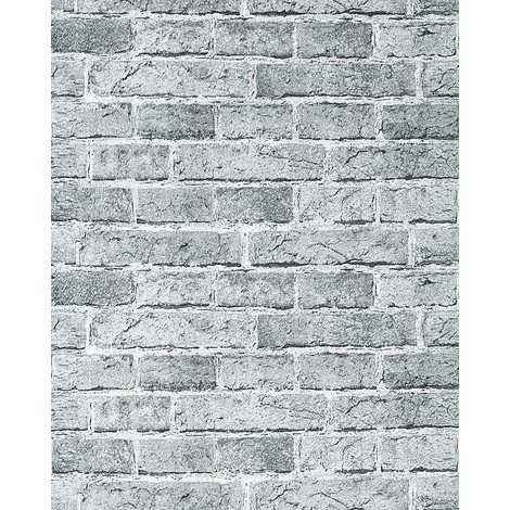 "main image of ""Rustic brick wallpaper wall EDEM 583-20 decorative vintage mural stone brix look vinyl sand-beige"""