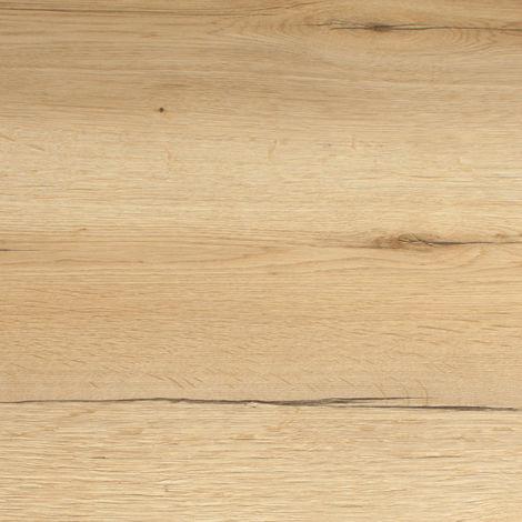 Rustic Oak Effect Laminate Edging Strip 1500mm X 45mm