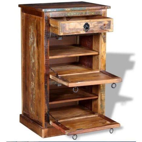 Vintage Shoe Rack Bench Organiser Handmade Hallway Furniture Shoe Storage Stand