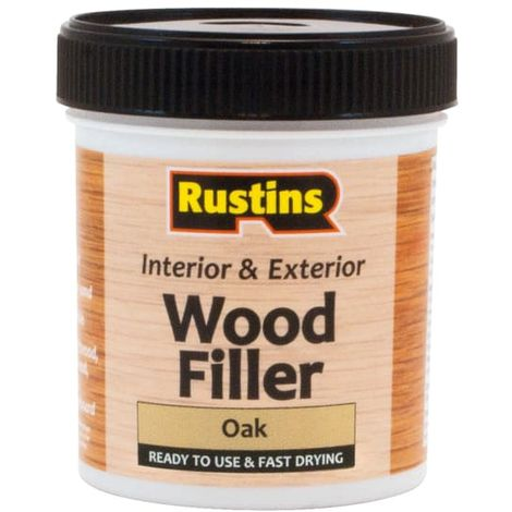 Rustins Acrylic Wood Filler Oak 250ml