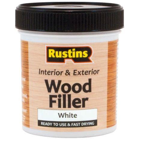 Rustins Acrylic Wood Filler White 250ml
