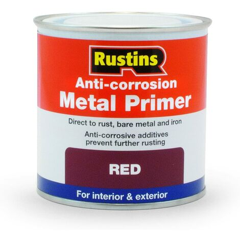 Rustins Anti-Corrosion Metal Primer Red 250ml