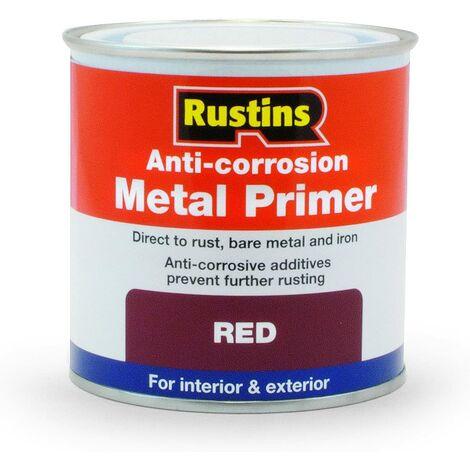 Rustins Anti-Corrosion Metal Primer Red 500ml