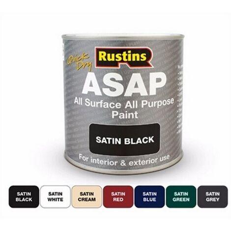 Rustins ASAP Green Paint Satin 1ltr