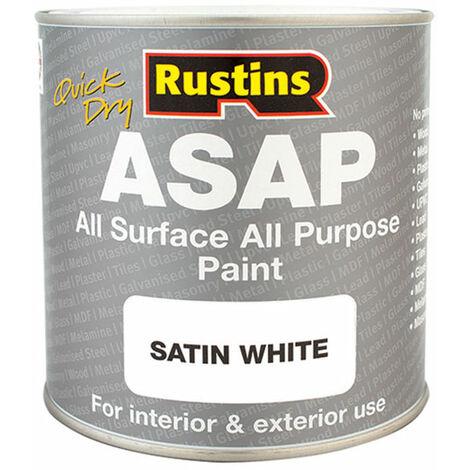 Rustins ASAP1000 ASAP Paint White 1 Litre