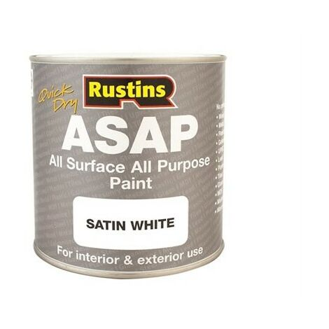 Rustins ASAP1000 Paint White 1 Litre