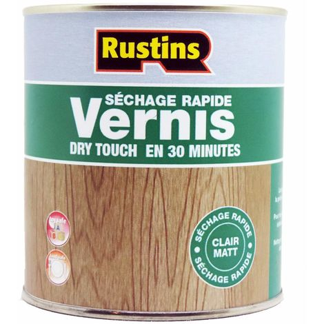 Rustins AVMC5000 Vernis à séchage rapide - Clair matt - 5L