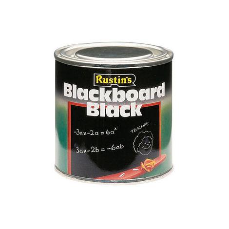 Rustins Blackboard Paint 125ML / 250ml / 500ml / 1L / 2.5 Litre- ALL TYPES