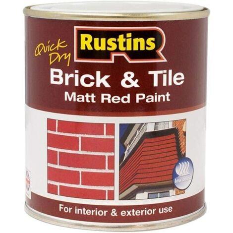 Rustins Brick & Tile Paint 500ml