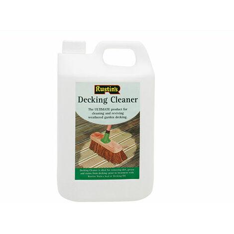 Rustins Decking Cleaner 4 Litre - 4 Litre