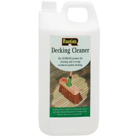 Rustins Decking Cleaner 4 Litre