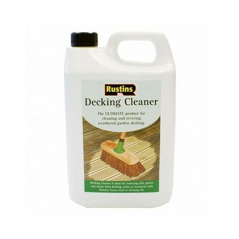 Rustins DECL4000 Decking Cleaner 4 Litre
