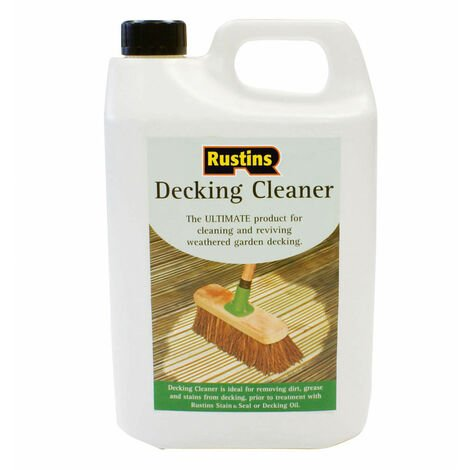 Rustins DECL4000 Decking Cleaner 4 Litre