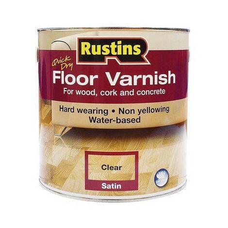 Rustins Floor Varnish Gloss & Satin 1L / 2.5L / 5L ALL TYPES STOCKED