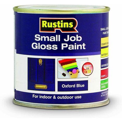 Rustins GPOB250 250ml Small Job Oxford - Blue