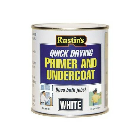 Rustins Grey Primer / Undercoat 250ML / 500ML / 1 Litre / 2.5 Litre ALL TYPES