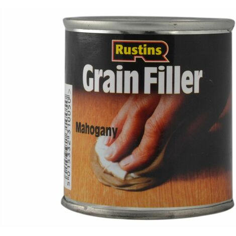 Rustins GRMA230 230g Mahogany Grainfiller