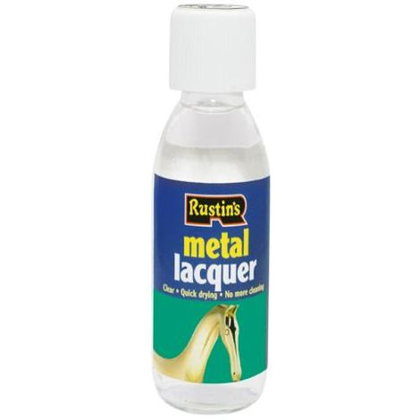 Rustins Metal Lacquer Clear 125 ml