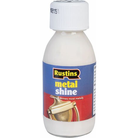 Rustins METS Metal Shine 125ml
