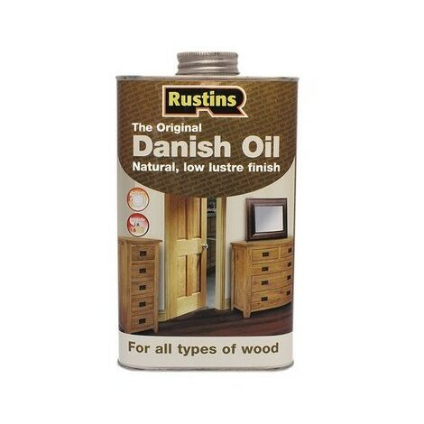 Rustins Original Danish Oil 250ML / 500ml / 1L / 2.5L / 5L / 25L ALL TYPES
