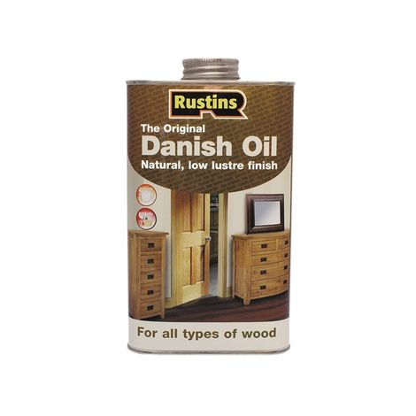 Rustins Original Danish Oil 250ML / 500ml / 1L / 2.5L / 5L / 25L ALL TYPES