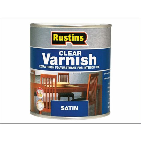 Rustins Polyurethane Clear Varnish Gloss / Matt / Satin ALL SIZES AVAILABLE