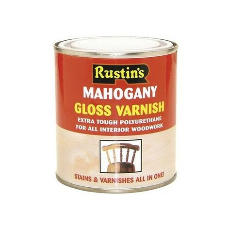 Rustins Polyurethane Coloured Varnish Gloss / Satin Paint ALL COLOURS AVAILABLE