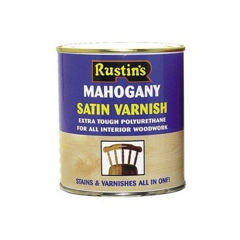 Rustins Polyurethane Coloured Varnish Gloss / Satin Paint ALL COLOURS AVAILABLE