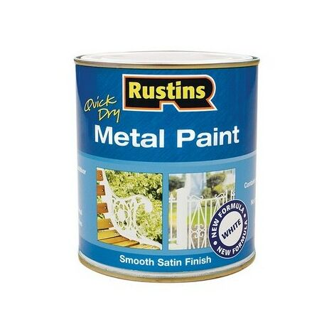 Rustins Quick Dry Metal Paint *ALL COLOURS & TYPES AVAILABLE*