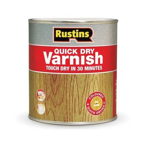 Rustins Quick Dry Varnish CLEAR Gloss / Matt / Satin Paint- ALL TYPES SIZES