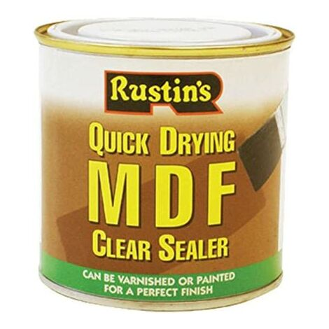 Rustins Quick Drying MDF Clear Sealer 250ml