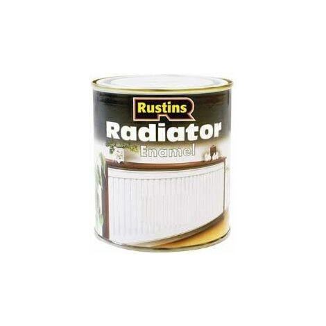 Rustins RADE500 500ml Radiator Paint Satin