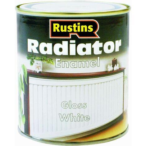 Rustins Radiator Enamel Paint Gloss / Satin Available ALL SIZES