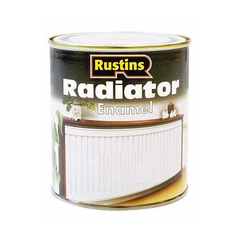 Rustins Radiator Enamel Paint Gloss / Satin Available ALL SIZES