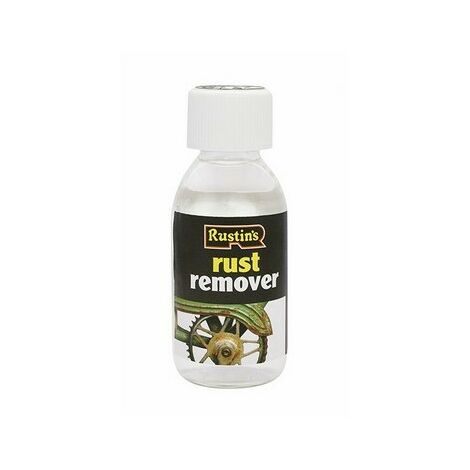 Rustins RUST125 Rust Remover 125ml