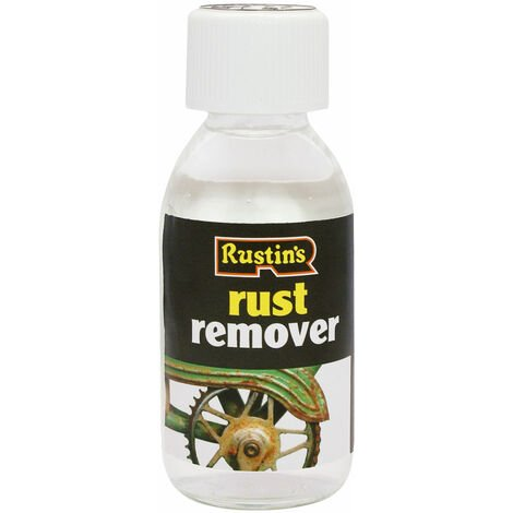 Rustins RUST125 Rust Remover 125ml