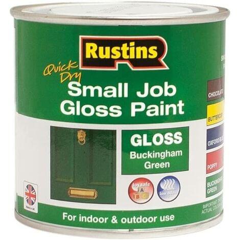 Rustins Small Job Gloss Paint Buckingham Green 250ml