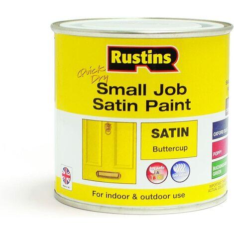 Rustins SPBUW250 QD Small Job Buttercup 250ml Satin
