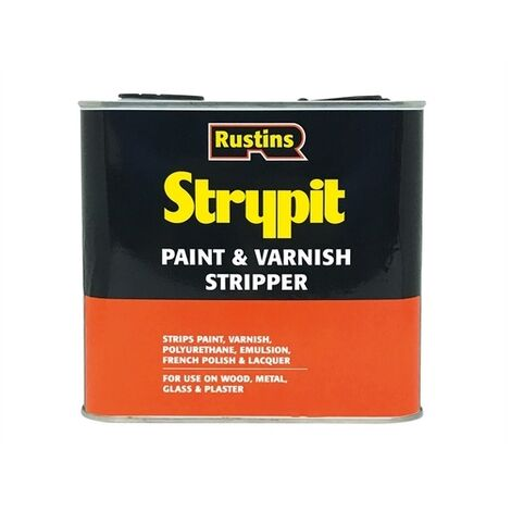 Rustins STNF2500 Strypit Paint & Varnish Stripper New Formulation 2.5 Litre